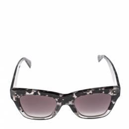 Celine Shadow Havana/Grey Gradient CL40004I Square Sunglasses 393548