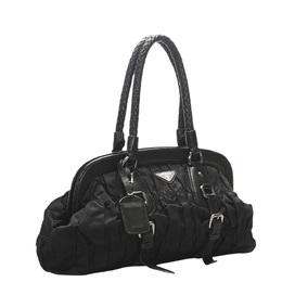 Tessuto Gaufre Frame Shoulder Bag Prada 327292