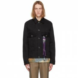 Song For The Mute Black Room Military Jacket 211_MJK082E9_WDNMBLK