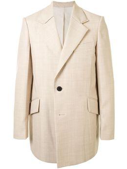 Wooyoungmi двубортный пиджак свободного кроя W211CJ02BEIGE