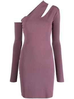 Nanushka платье мини на одно плечо NW21RSDR01492