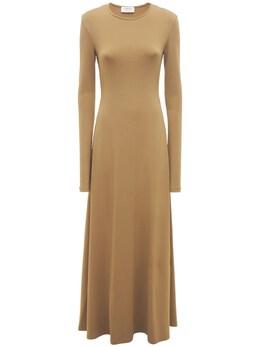 Платье Из Вискозного Трикотажа Sportmax 73I50S017-MDAzIEtIQUtJ0