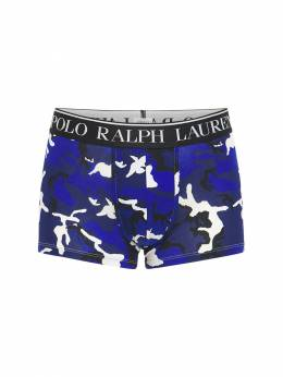 Трусы-боксеры Из Хлопка С Принтом Polo Ralph Lauren 73IHLR003-MDA30