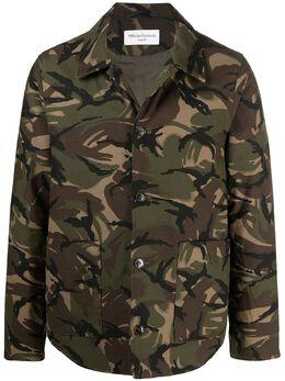 Officine Generale куртка-рубашка с камуфляжным принтом S21MOTW602PRE