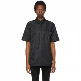 1017 Alyx 9Sm Black Short Sleeve Shirt AAUSH0087FA01.S21