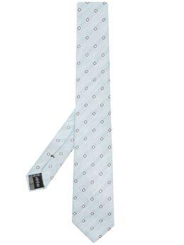 Emporio Armani галстук с вышивкой 3400751P651