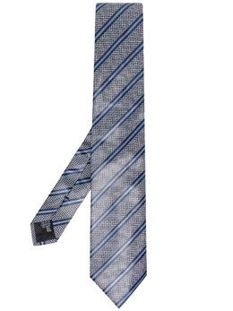 Emporio Armani галстук в диагональную полоску 3400751P665