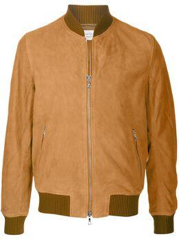 Officine Generale куртка-бомбер Todd на молнии S20MOTW551