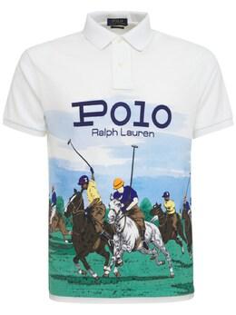 Рубашка-поло Scenic С Принтом Polo Ralph Lauren 73I7Q4016-MDAx0