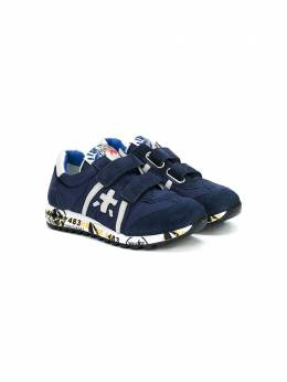 Premiata Kids touch strapped sneakers LUCY