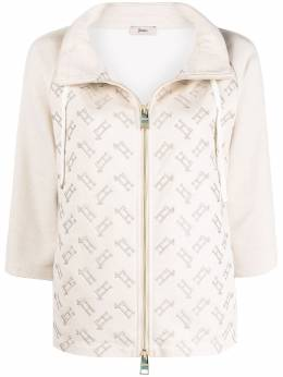 Herno легкая куртка с монограммой JC0013D50020