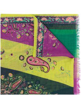 Etro шарф с принтом пейсли 117775594