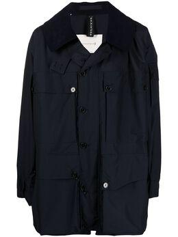 Mackintosh куртка System с вельветовым воротником MO6140