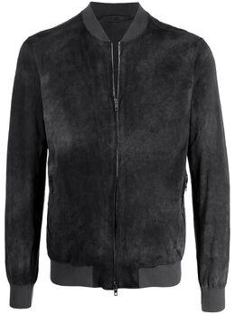 Salvatore Santoro куртка-бомбер на молнии NUS21242