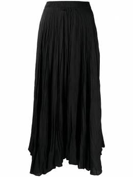 Joseph юбка асимметричного кроя с жатым эффектом JF005257