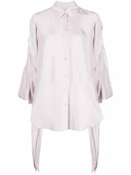 Nina Ricci рубашка с завязками на манжетах 21ECTO012SE1355U2697
