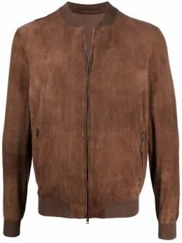 Salvatore Santoro куртка-бомбер на молнии 40517VAGE