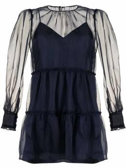 Cinq A Sept платье мини из органзы ZD13362462Z