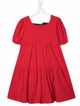 Pinko Kids ярусное платье 027221