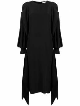 Nina Ricci платье асимметричного кроя с драпировкой 21ECRO016SE0801U9000