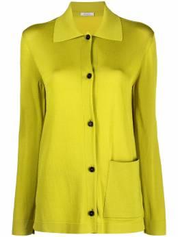 Nina Ricci рубашка с накладным карманом 21EMCR001ML0476U6092