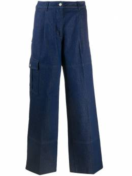 Nina Ricci широкие джинсы с завышенной талией 21PDPA012CO0967U4386