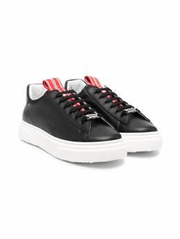 Dsquared2 Kids кроссовки на шнуровке 67076