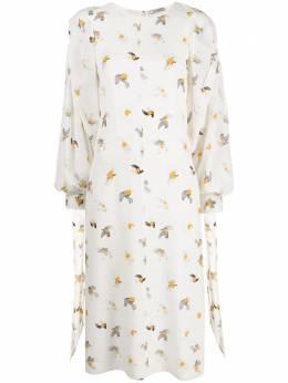 Nina Ricci платье с принтом 21ECRO016SE1357I1213