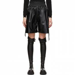 System Black Belted Shorts SY2B1-WPCT06W