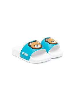 Moschino Kids шлепанцы Teddy Bear 67529