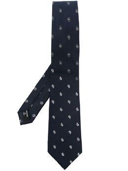 Giorgio Armani галстук с принтом пейсли 3600541P928