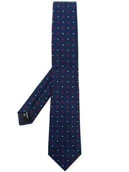 Giorgio Armani галстук с геометричным принтом 3600541P908