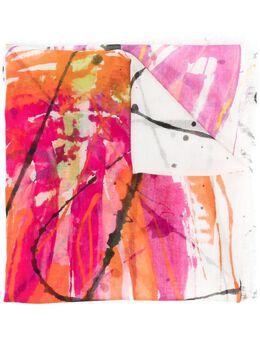 Faliero Sarti шарф с эффектом разбрызганной краски E212042