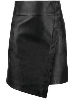 Ba&sh high-waisted asymmetric skirt 1E21PHAN