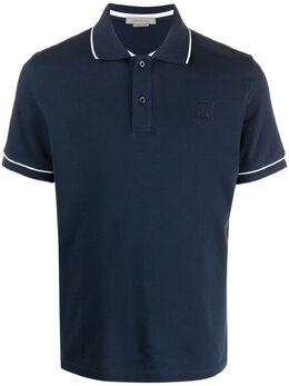 Corneliani рубашка поло с контрастной отделкой 87G5721125050