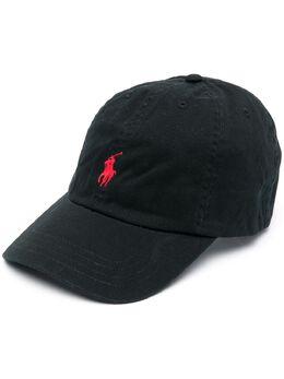 Ralph Lauren Kids embroidered logo baseball cap 323552489