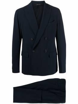 Giorgio Armani костюм с двубортным пиджаком 1SGAV02CT004N