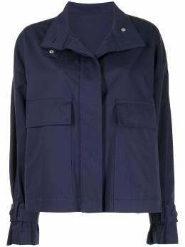 MSGM куртка с воротником-воронкой 3041MDH0221710989