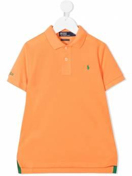 Ralph Lauren Kids logo-embroidered polo shirt 322780773