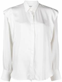 Ba&sh Alia ruffle trim long-sleeve shirt 1E21ALIA