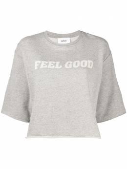 Ba&sh Felixe slogan-print sweatshirt 1E21FELI