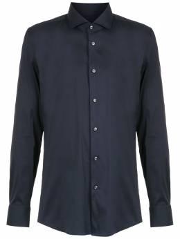 Boss by Hugo Boss рубашка узкого кроя с заостренным воротником 50260064
