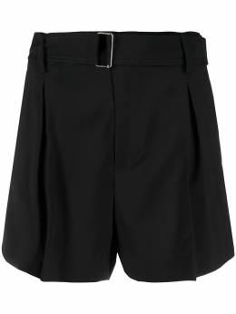 No. 21 belted wool shorts 21EN2M0D0213133