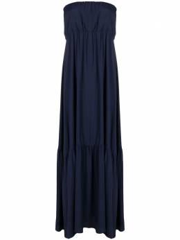 Semicouture sleeveless tiered dress Y1SU11