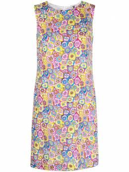 M Missoni платье-трапеция с цветочным принтом 2DG006062W007A