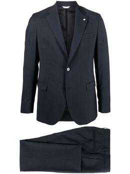Manuel Ritz клетчатый костюм-двойка стандартного кроя 2932A3887203557