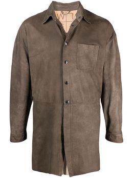 Giorgio Brato куртка-рубашка на пуговицах WD21S19703RASP