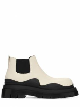 Bv Tire Leather Chelsea Mid Boots Bottega Veneta 73ID5P016-OTA0OQ2
