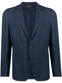 Z Zegna однобортный пиджак 9737201D7SG0