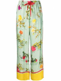 Semicouture floral-print trousers Y1ST30